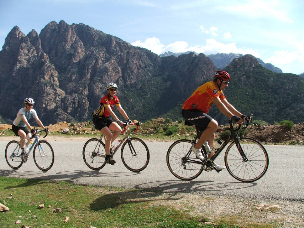 Cycling around the Island in Corsica - Best Time