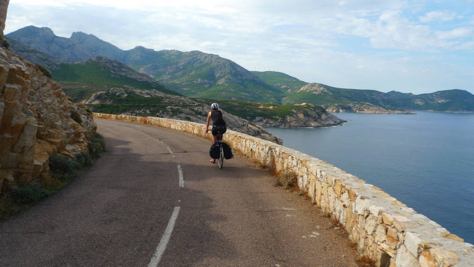 Best time for Cycling around the Island in Corsica