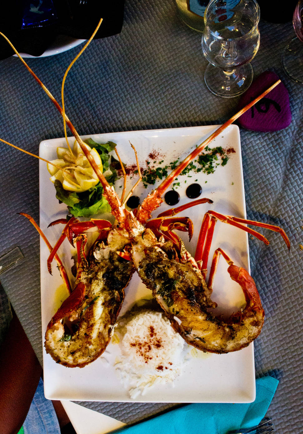 Best time for Lobster in Corsica