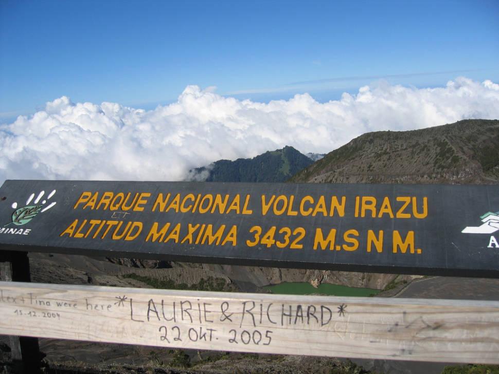 Best time to see Irazu Volcano in Costa Rica
