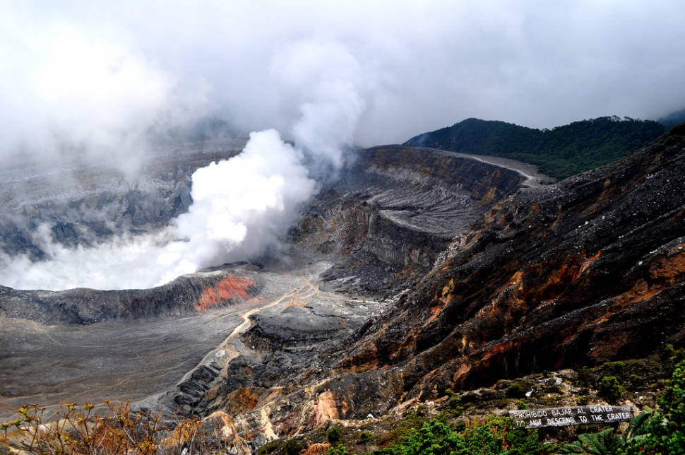 Best time for Poas Volcano in Costa Rica