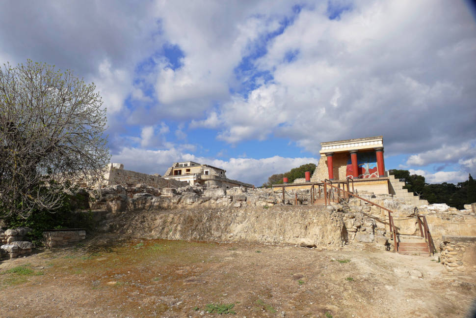 Knossos Minoan Palace in Crete - Best Season