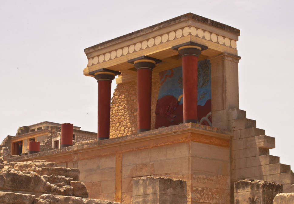 Best time for Knossos Minoan Palace in Crete