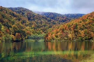 Autumnal Plitvice Lakes