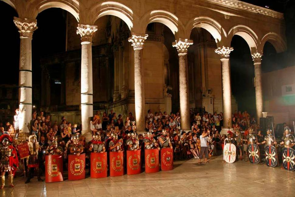 Best time to see Nights of Diocletian in Croatia