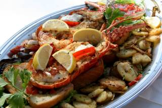 Lobster Eating Time