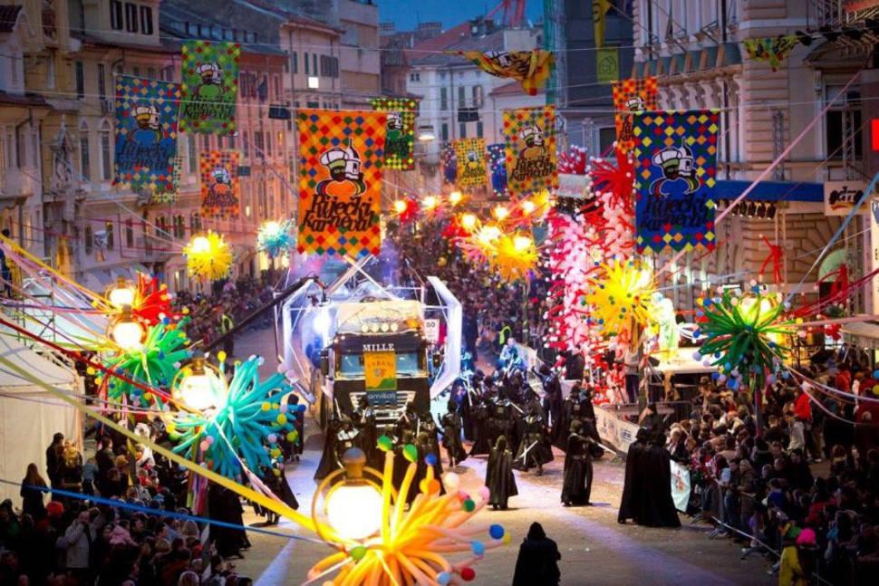 Best time to see Rijeka Carnival in Croatia