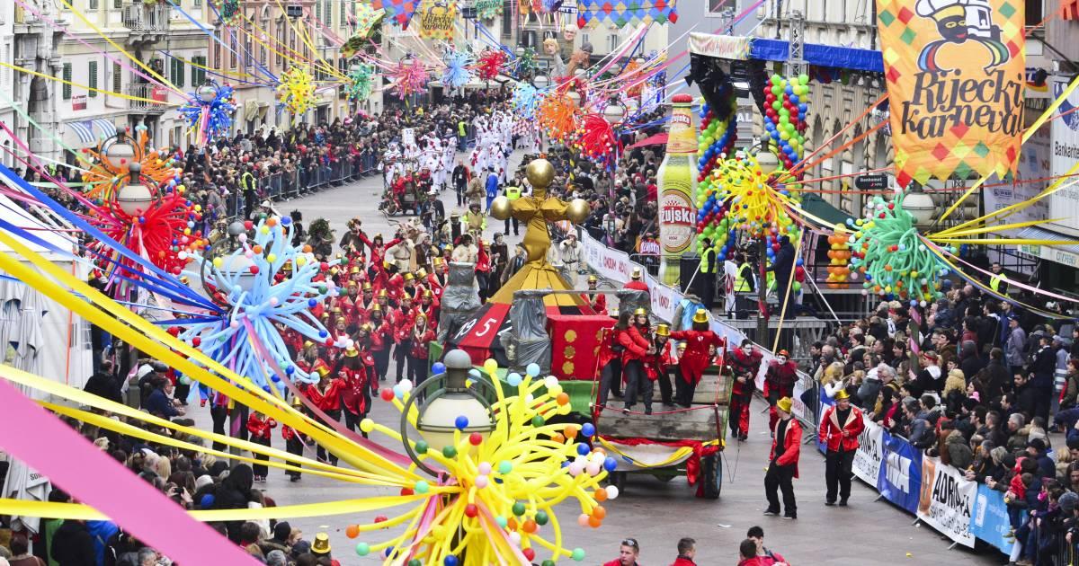 Rijeka Carnival in Croatia - Best Time