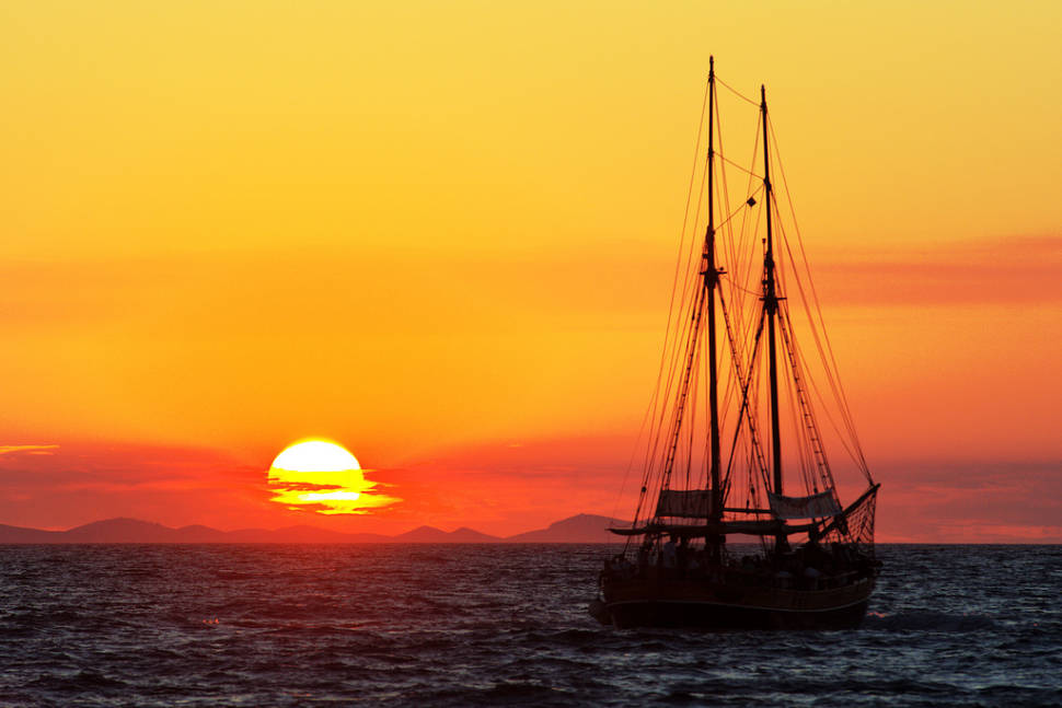 The Best Sunsets in Croatia - Best Time