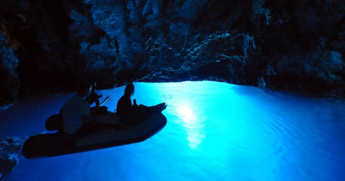 The Blue Cave in Croatia - Best Time