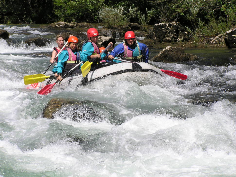White Water Rafting in Croatia - Best Time