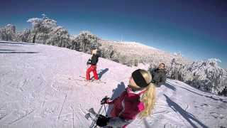 Skiing the Troodos Mountains