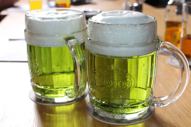 Best time for Zelené Pivo (Green Beer) in Czech Republic