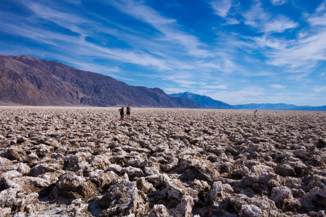 Best time for Devil's Golf Course in Death Valley