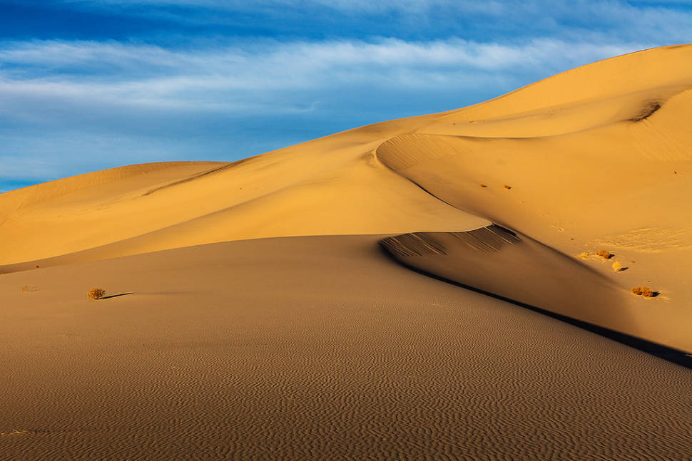 Eureka Dunes in Death Valley - Best Time