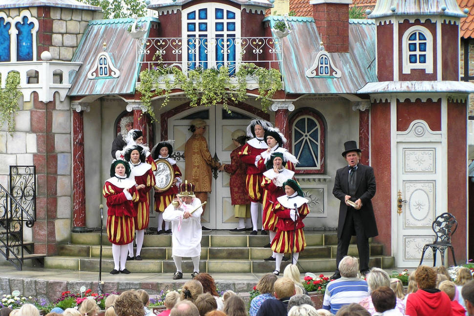 ODENSE, H.C. Andersens Hus, Live Show Emperor's New Clothes