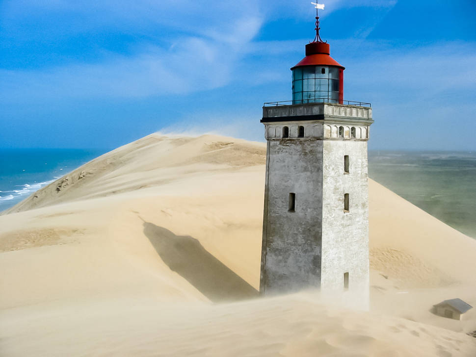 Rubjerg Knude Lighthouse in Denmark - Best Season