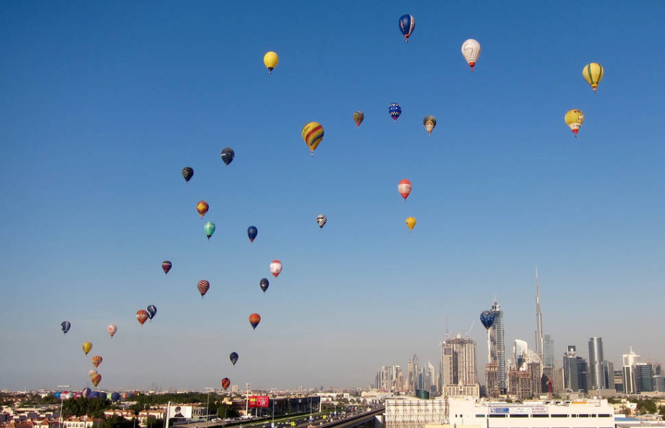Ballooning in Dubai - Best Season