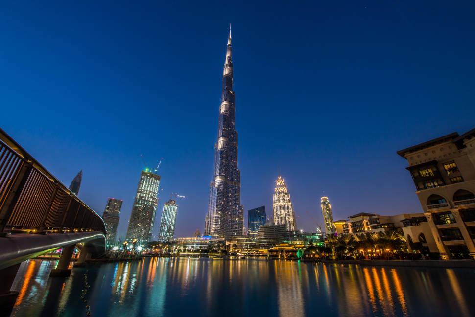 Burj Khalifa in Dubai - Best Season