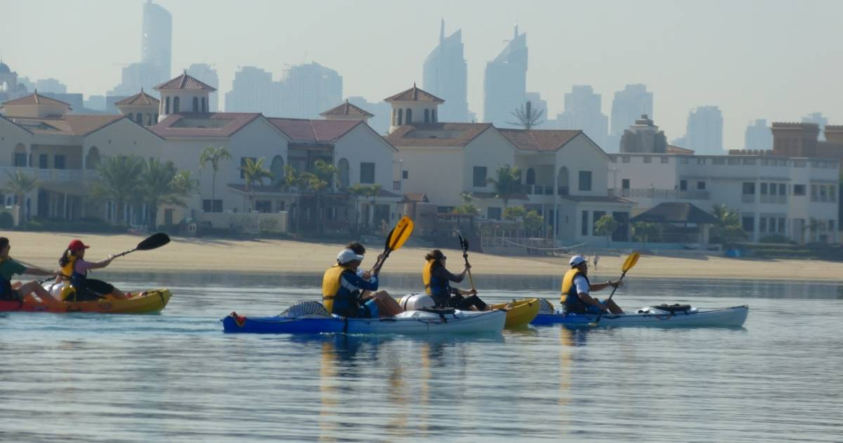 Kayaking and Canoeing in Dubai - Best Time