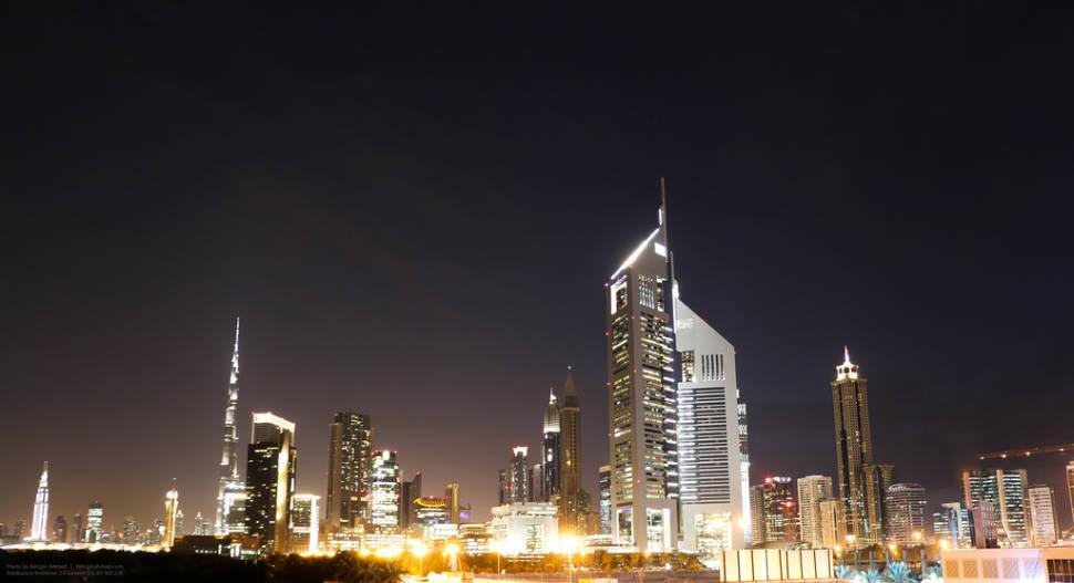 Dubai World Trade Center Parking Area