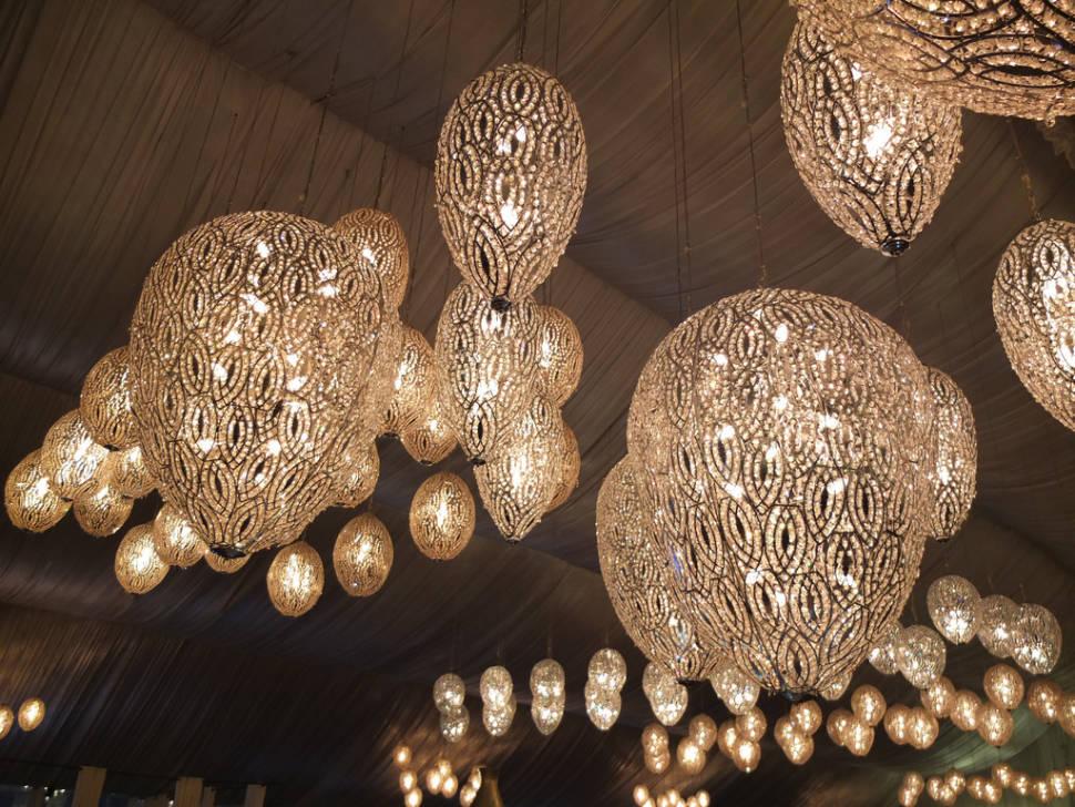 The lanterns are one of the symbols of Ramadan