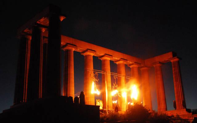 Best time to see Beltane Fire Festival in Edinburgh