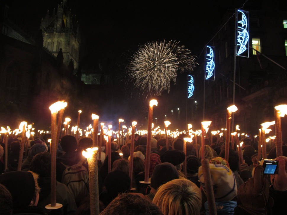 Best time for Hogmanay in Edinburgh