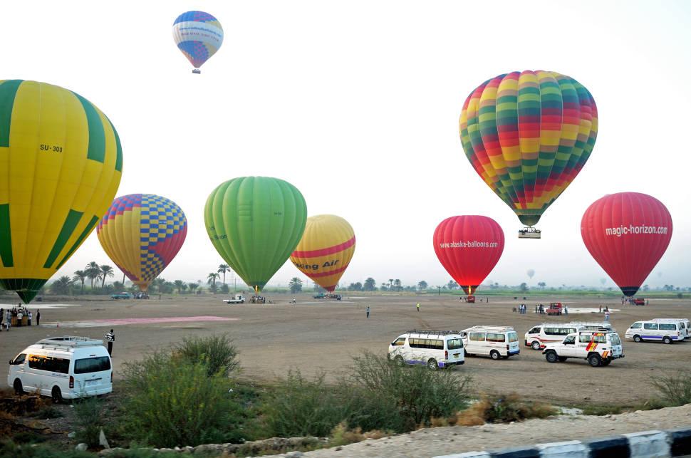 Luxor Egypt Balloon Ride