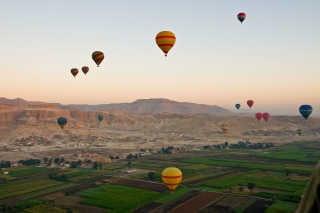 Hot Air Balloon Festival in Luxor