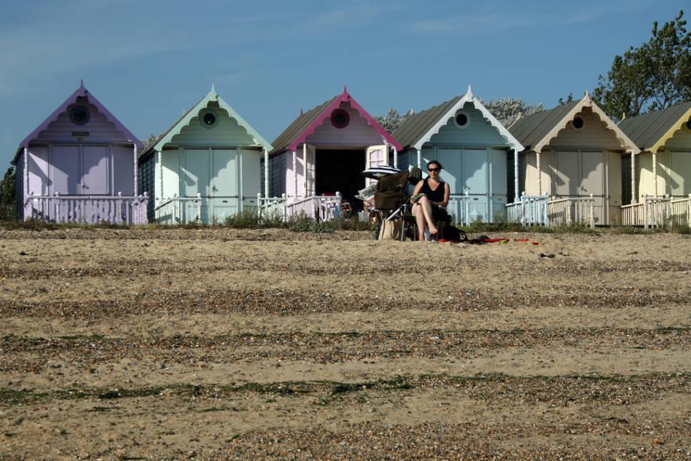 West Mersea Beach in Essex