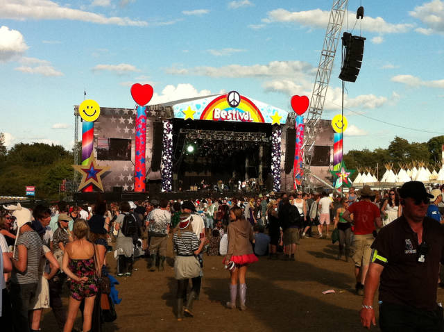 Best time for Bestival in England