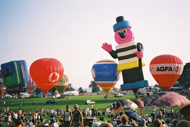 Best time for Bristol International Balloon Fiesta