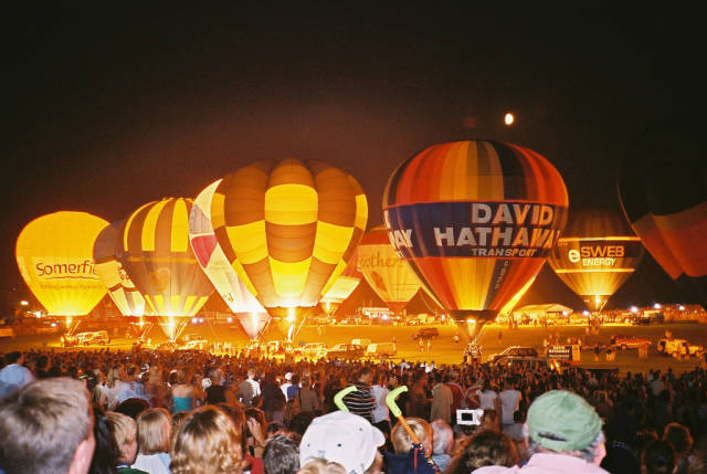 Best time to see Bristol International Balloon Fiesta in England