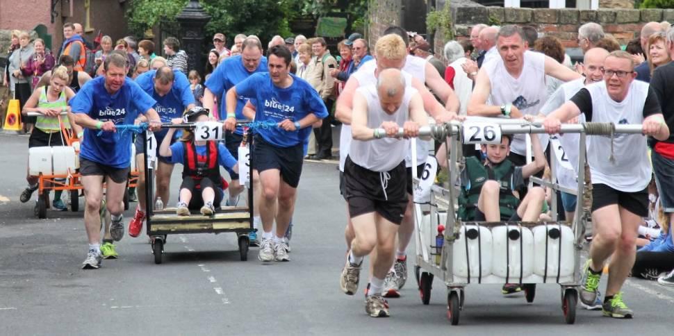 Knaresborough Bed Race in England - Best Season