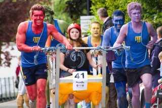Knaresborough Bed Race