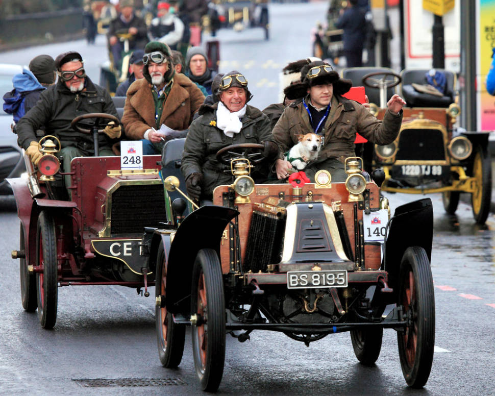 London to Brighton Veteran Car Run in England - Best Time