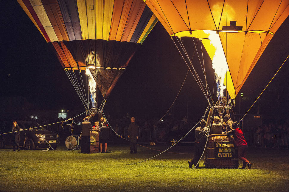 Oswestry Balloon Festival in England - Best Season