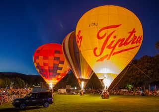 Balloon Carnival in Oswestry