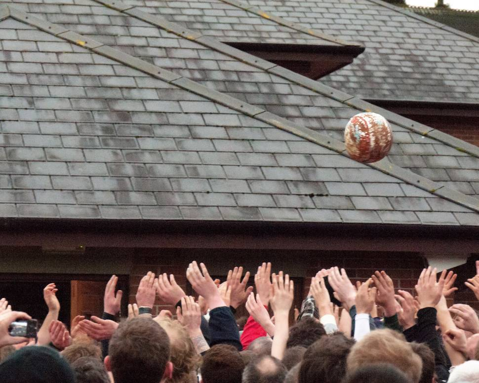 Royal Shrovetide Football  in England - Best Time