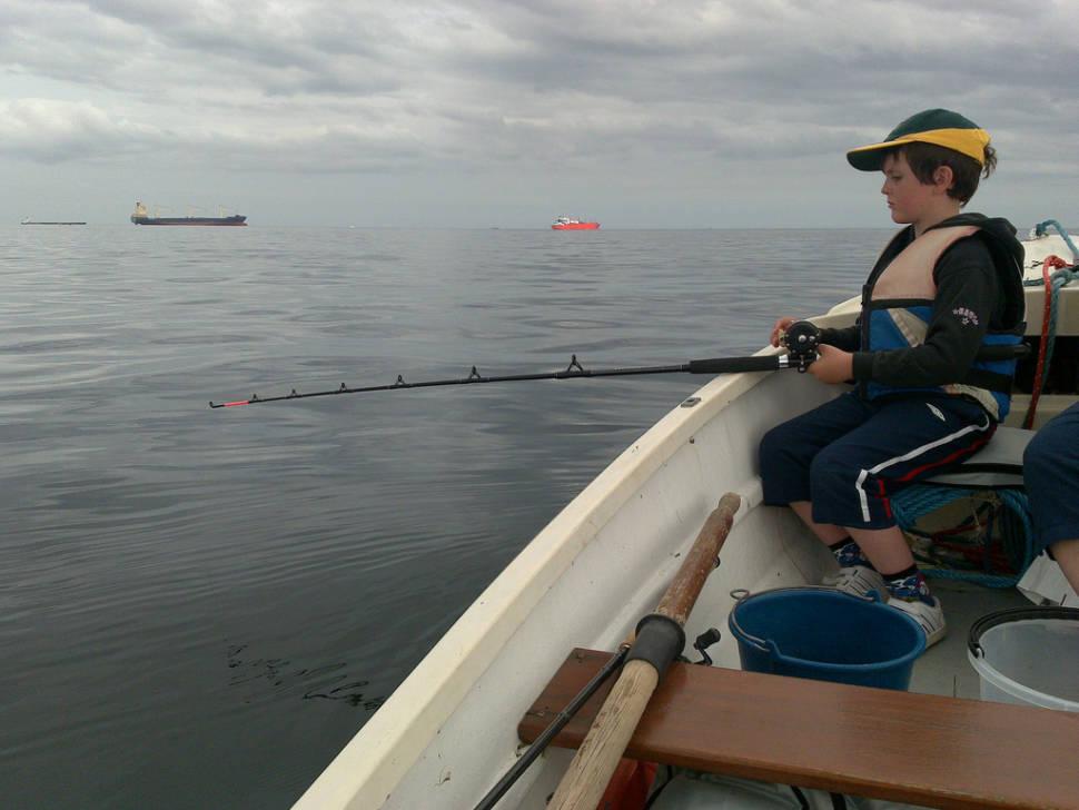 Sea Fishing  in England - Best Season