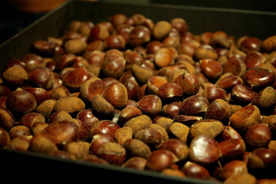 Best time for Sweet Chestnut Season in England
