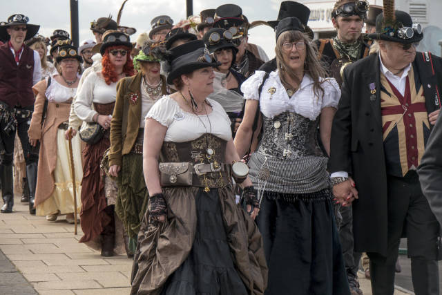 Best time to see Whitby Goth Weekend in England