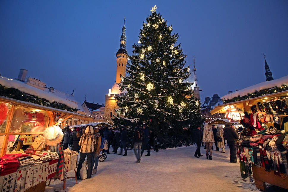 Christmas Market in Tallinn in Estonia - Best Season