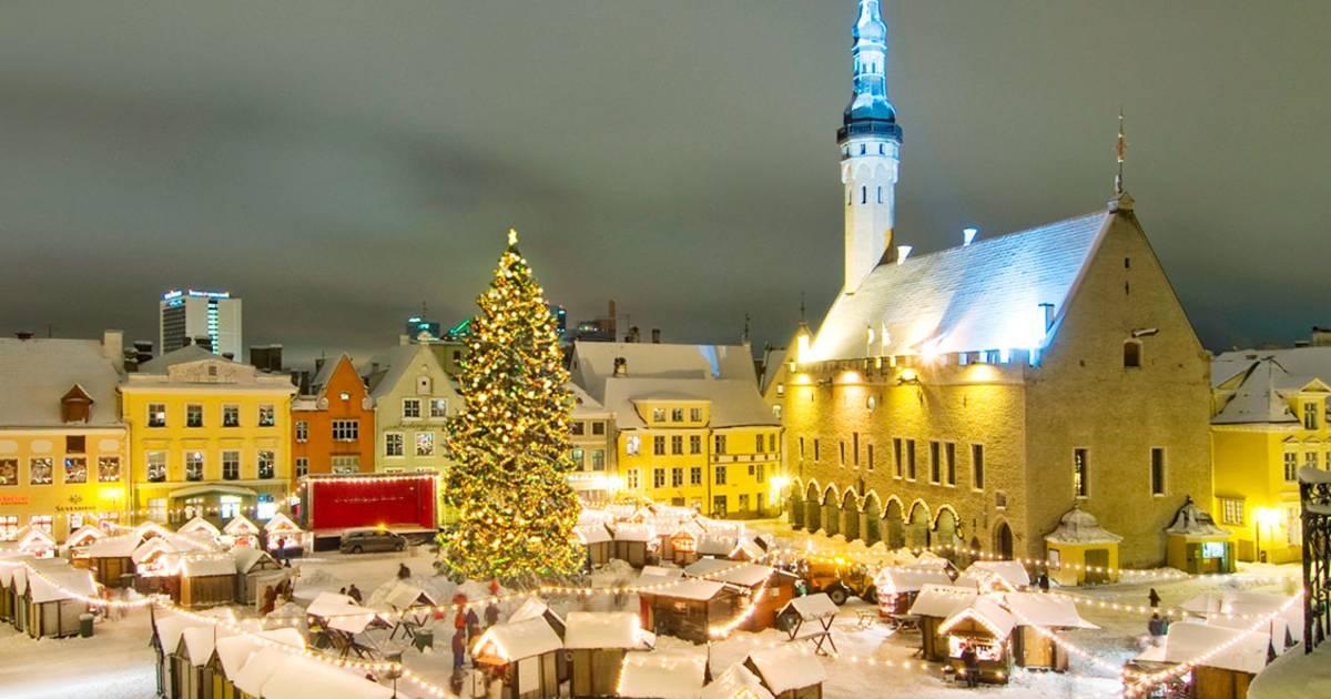 Christmas Market in Tallinn in Estonia - Best Time