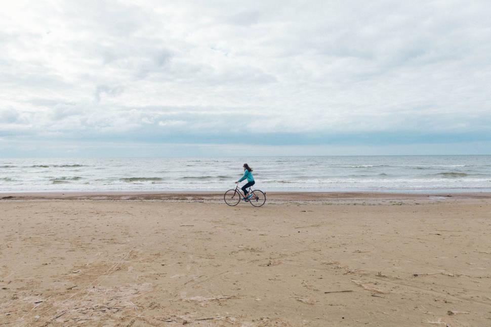 Little bicycle trip near Narva, Estonia