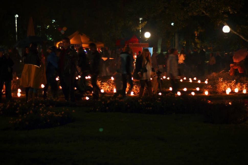 Best time to see Light Walks in Kadriorg in Estonia