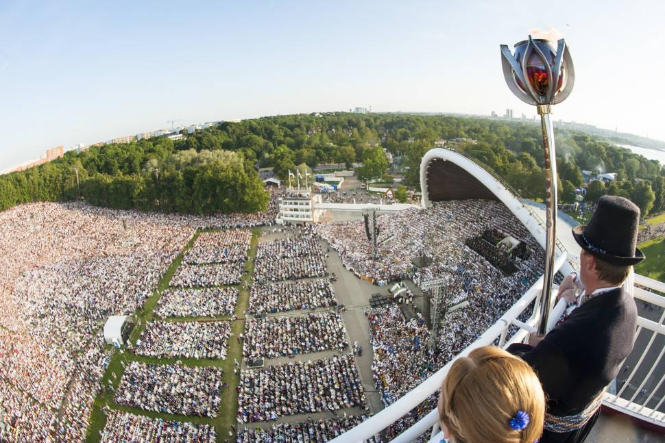 Massive Song and Dance Celebration (Laulupidu) in Estonia - Best Season