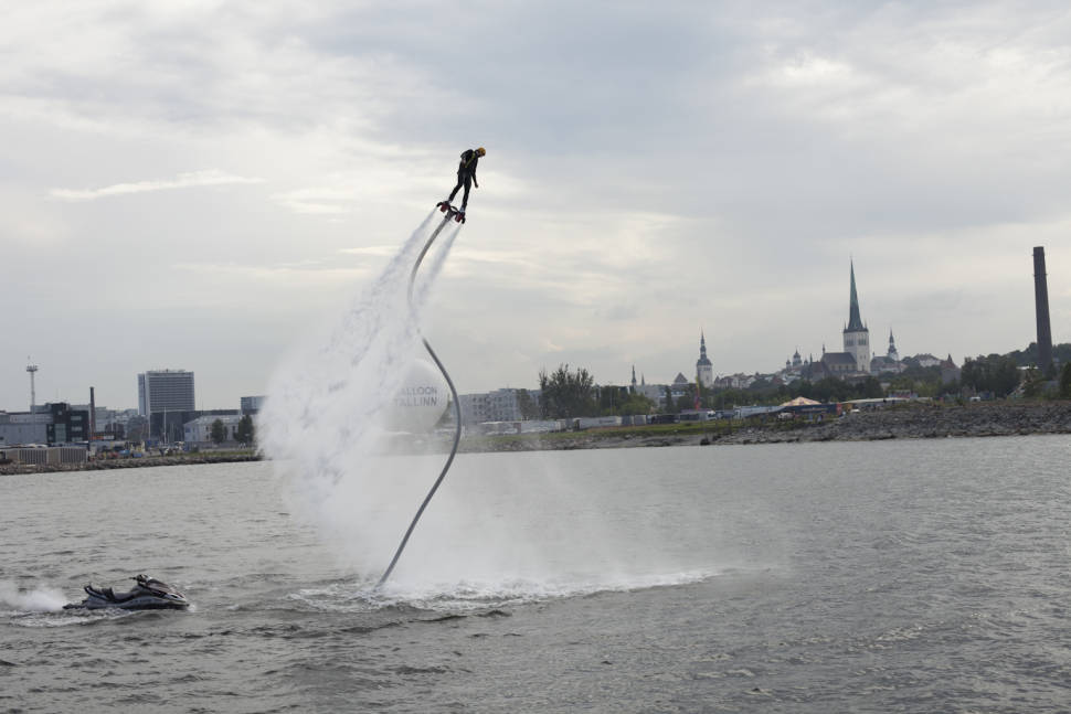 Best time for Tallinn Maritime Days