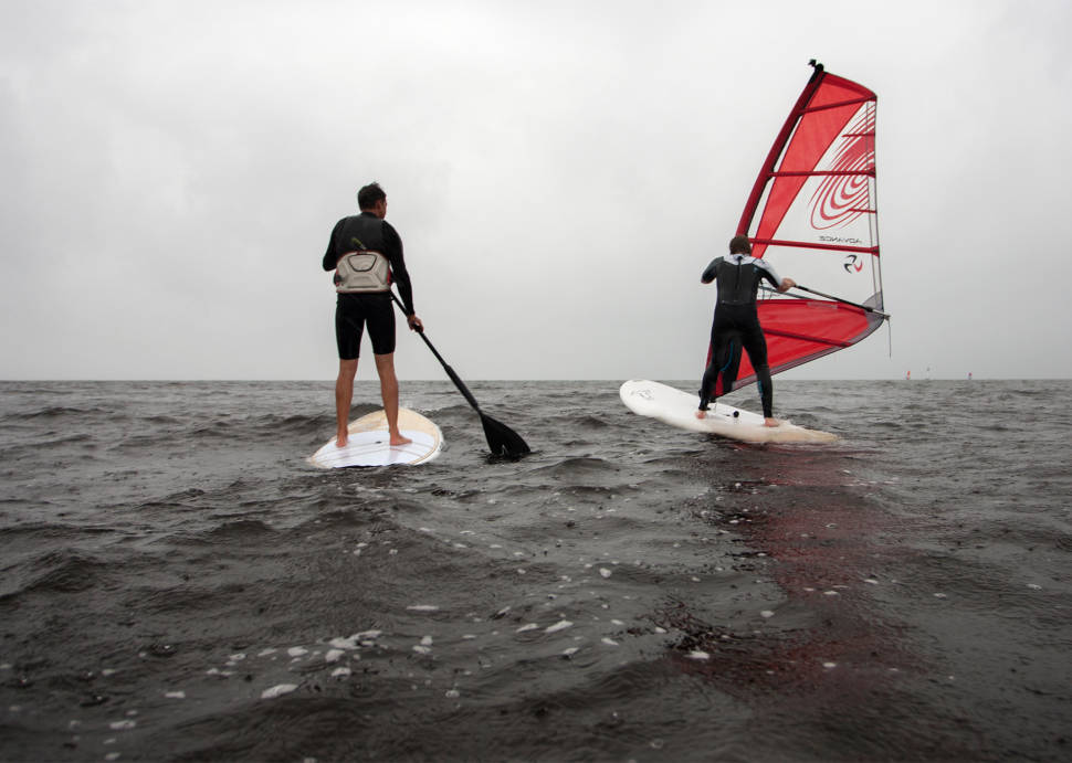 Best time for Windsurfing and Kitesurfing in Estonia